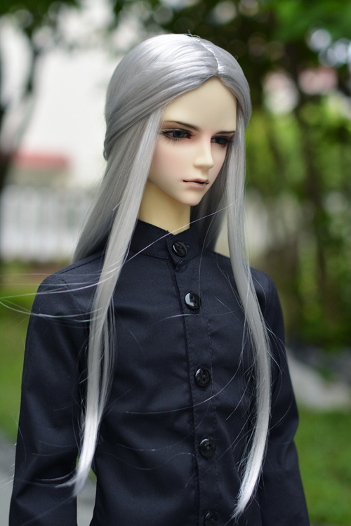 1/3 BJD Parikli Super Super Doll Bjd Parik Moda Üslubu Doll Buruq - Kuklalar və kuklalar üçün aksesuarlar - Fotoqrafiya 6
