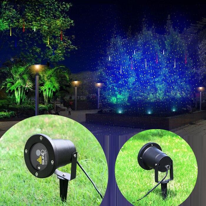 New SUNY Outdoor Indoor 9 Muster Rot Blau Laser Projektor Landschaft ...