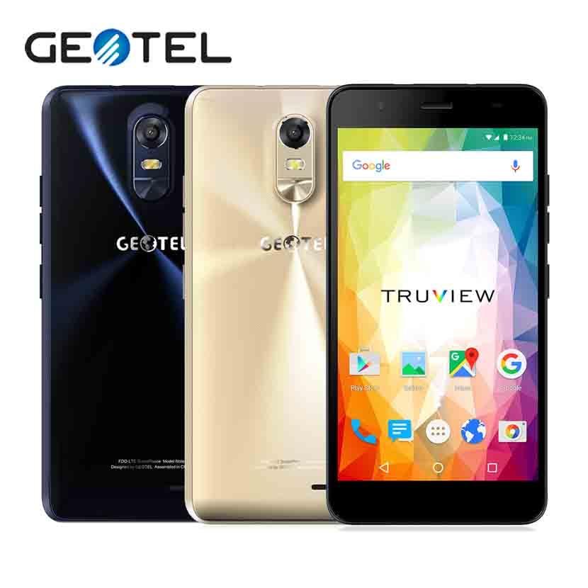 GEOTEL Note Smartphone 5 5 Inch HD MT6737 Quad Core 16G ROM 3G RAM 4G LTE