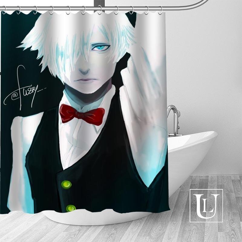 Custom Death parade Curtain Fabric Modern Shower Curtain bathroom beautiful Curtains Bath decor Polyester Cloth Waterproof
