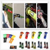 Griff Grip motocross Motorrad DirtBike Gummi kunststoff Hand Griffe FÜR TRIUMRH 675 675 HONDA CRF450R CRF250X CRF450X