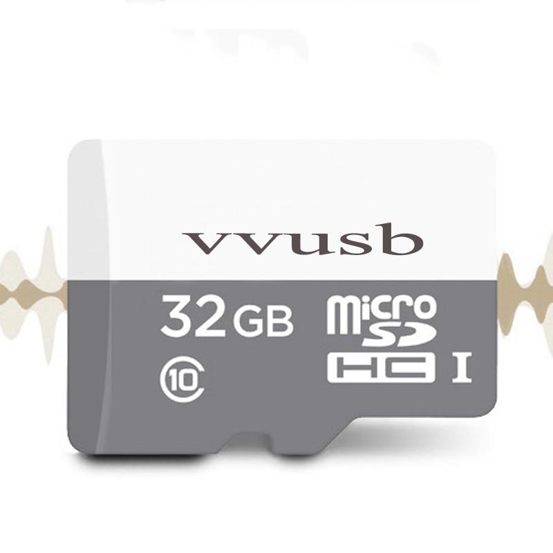 Vvusb tf/microsd trans flash карты серый модель карты памяти 8 ГБ 16 ГБ 32 ГБ 64 ГБ карта micro sd class10 флэш-карты 32 ГБ