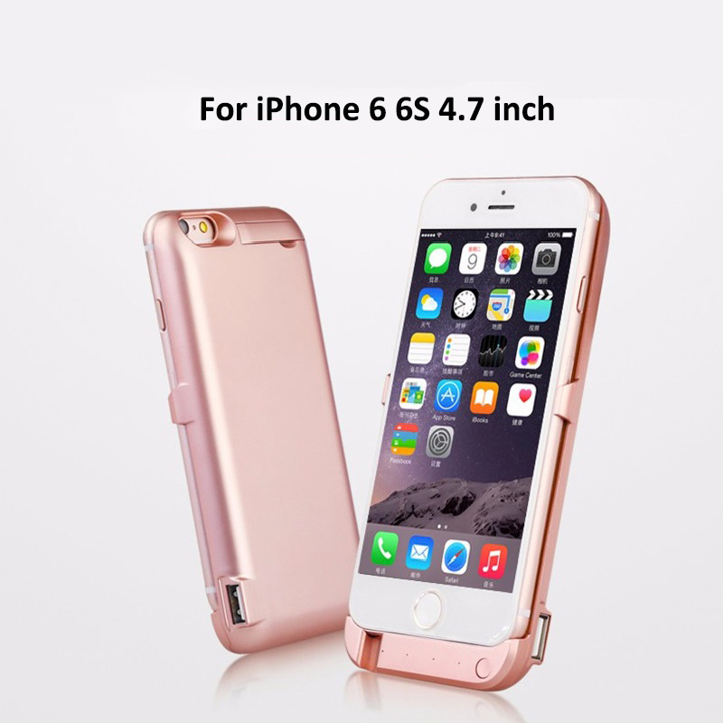 10000 mAh Backup External Battery Charger Case for iPhone