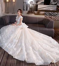 На заказ 2020 элегантное бальное платье кружевные платья для