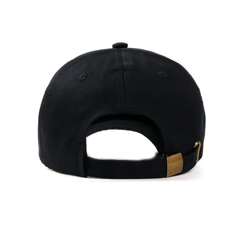 women s cap men solid unisex black women men s baseball cap men female cap black