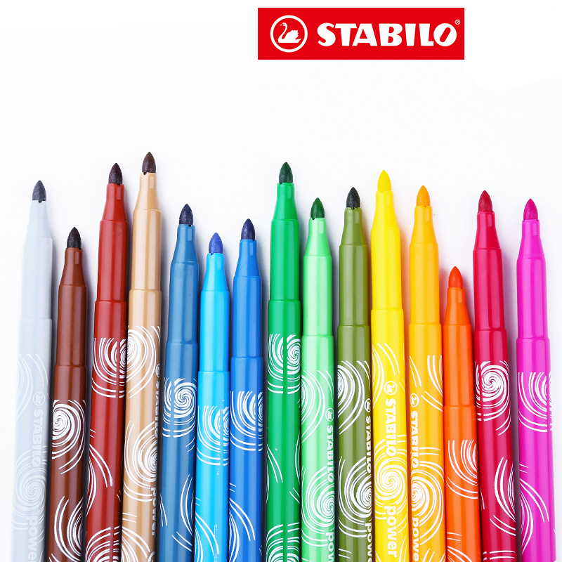 12/18/24/30 colors/set Germany Stabilo 280 Washable Drawing Painting Pen Colored MarkerPen Highlighter Pen Students Art Painting 12 18 24 30 colors set germany stabilo 280 washable drawing painting pen colored markerpen highlighter pen students art painting