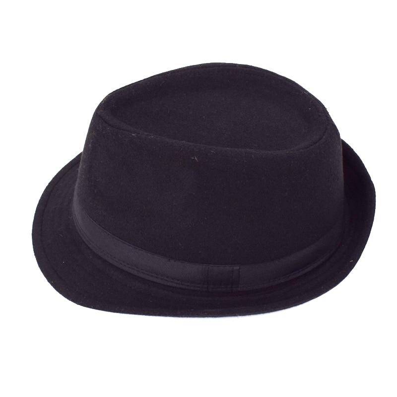 Original Unisex Structured Wool Fedora Hat Fedora hats for men Jazz fedora  felt hat head England Style Christmas Trilby Gift 01ba83b6fa4b