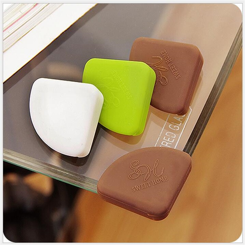8Pcs Children Safety Table Desk Protection Cover Baby Safe Crash Corner Guards Pads Table Corner Cover Safety Products