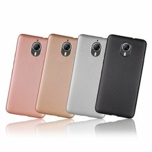 Case Cover For Google General Mobile GM 5 Plus Case Rose Gold Anti Knock Carbon Fiber Cover Case Back cover phone Cases(China)