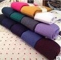 Envío gratis lana invierno cálido calidad pantyhose del color del caramelo renderizado leotardos stocking 12 colores