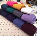 free shipping warm winter wool quality pantyhose candy color rendering tights stocking 12 colors