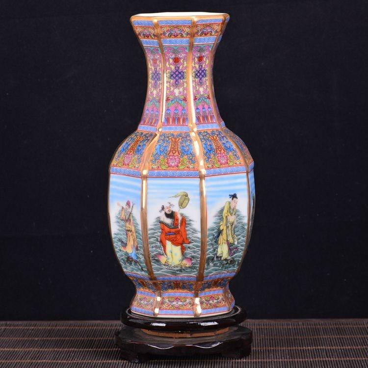Aliexpress Buy Antique Royal Chinese Porcelain Vase Decorative