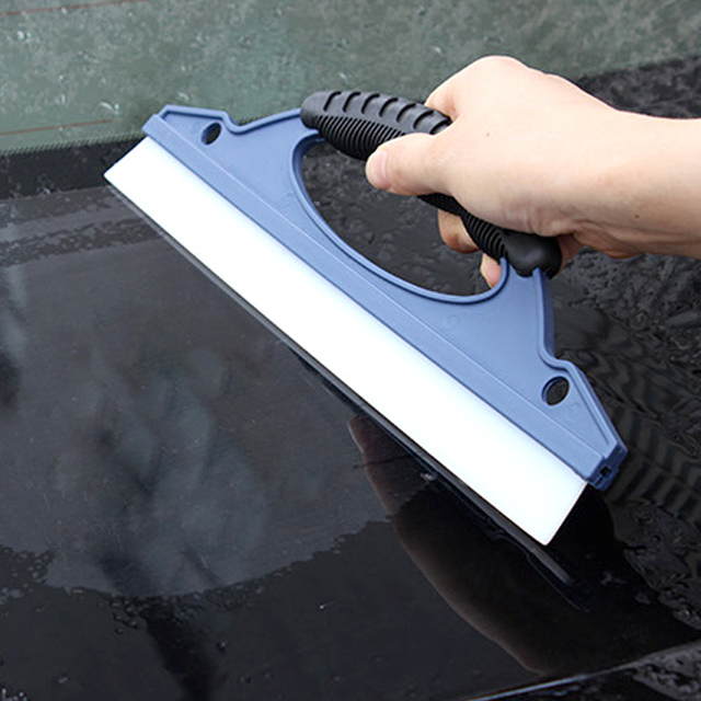 Silicone Car Wash Wiper Plate Car Wiper Plate Glass Cleaning Brush Scraper Silicone Wiper Blade Windscreen Cleaning Equipment