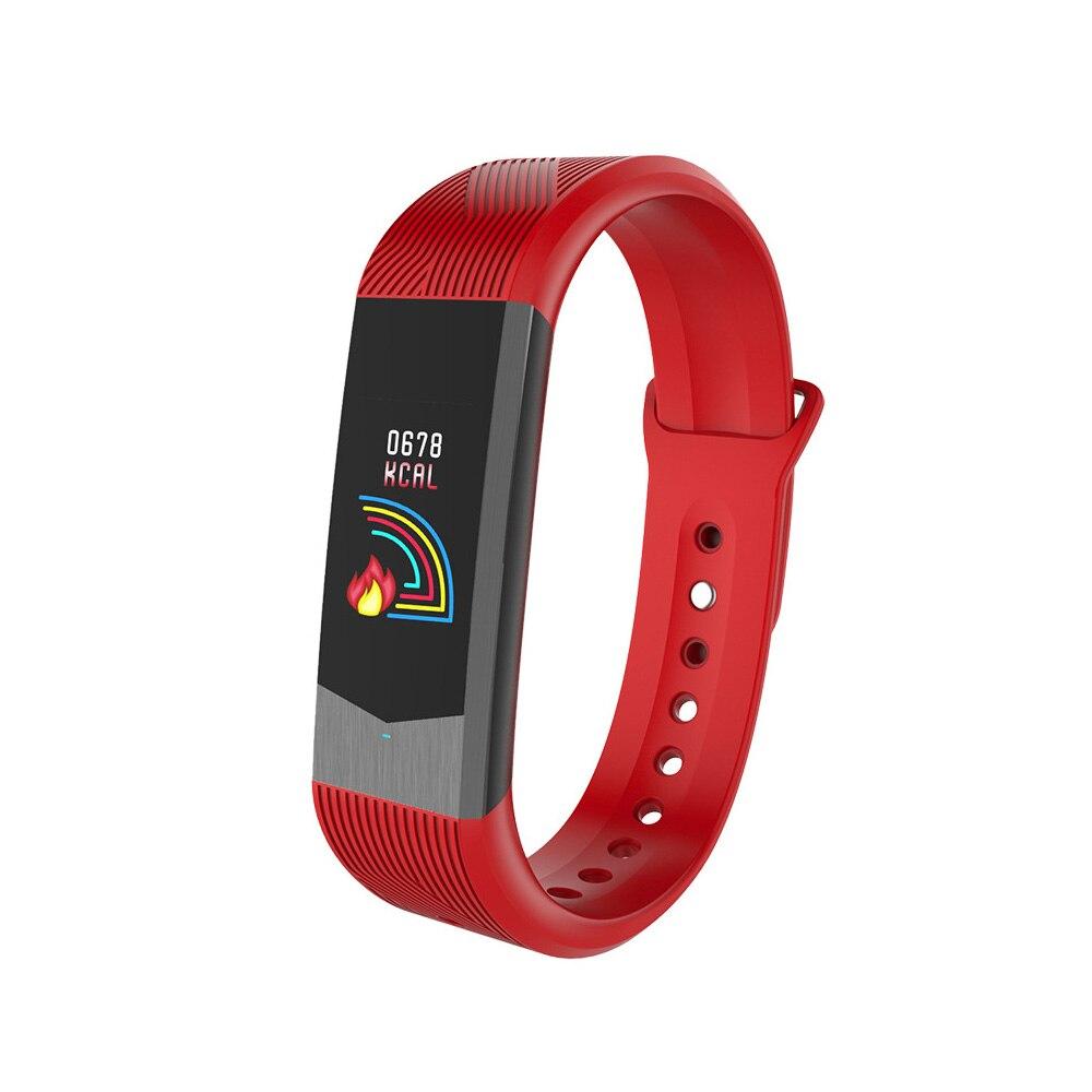 Smart Bracelets 3D Fitness Tracker Sport En Plein Air Smartband Étanche Fréquence Cardiaque Sang Pression Bracelet Couleur Lcd Écran Montre