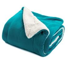 Naturelife бренд двухсторонный    бербер одеяло рождественский подарок теплое одеяло на кровать/на диване