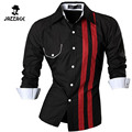 2016 Casual Shirts Dress Male Mixed Colors Mens Clothing Long Sleeve Social Slim Fit Mens Brand Chemise Chemise Homme DDWW