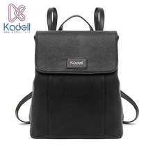 Kadell Brand Luxury Vintage 2017 Women Backpacks for Teenage Girls High Quality PU Leather Preppy School