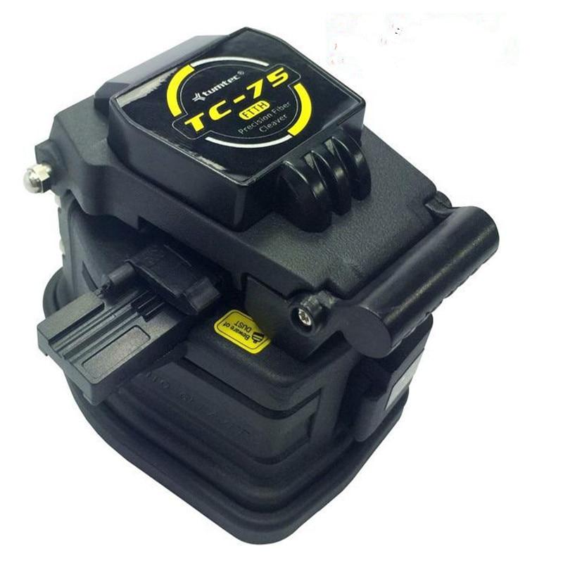FTTH Fiber Tools Fiber Cleaver TC 75 Aluminum Alloy 2 year warranty for 0 25 0