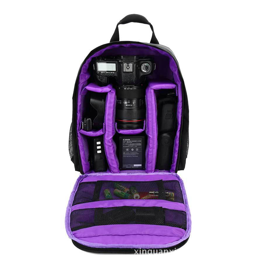 2017 Multifunctional women and men's Shockproof Waterproof Camera Bag backpack Professional Digital Photo Bag Photos Bags Canon jealiot multifunctional professional camera shoulder bag waterproof shockproof big digital video photo bag case for dslr canon