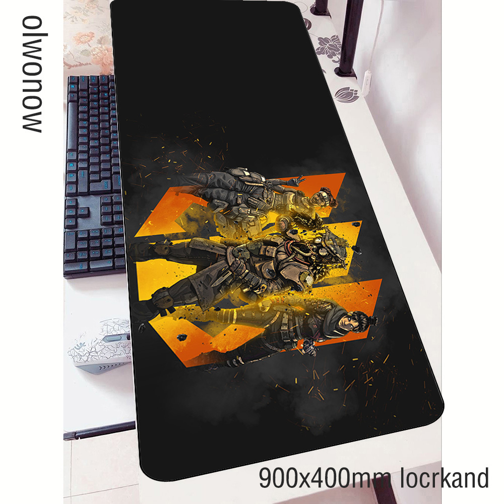 apex <font><b>padmouse</b></font> <font><b>900x400x3mm</b></font> gaming mousepad game desk large mouse pad gamer computer wrist rest mat notbook mousemat pc image