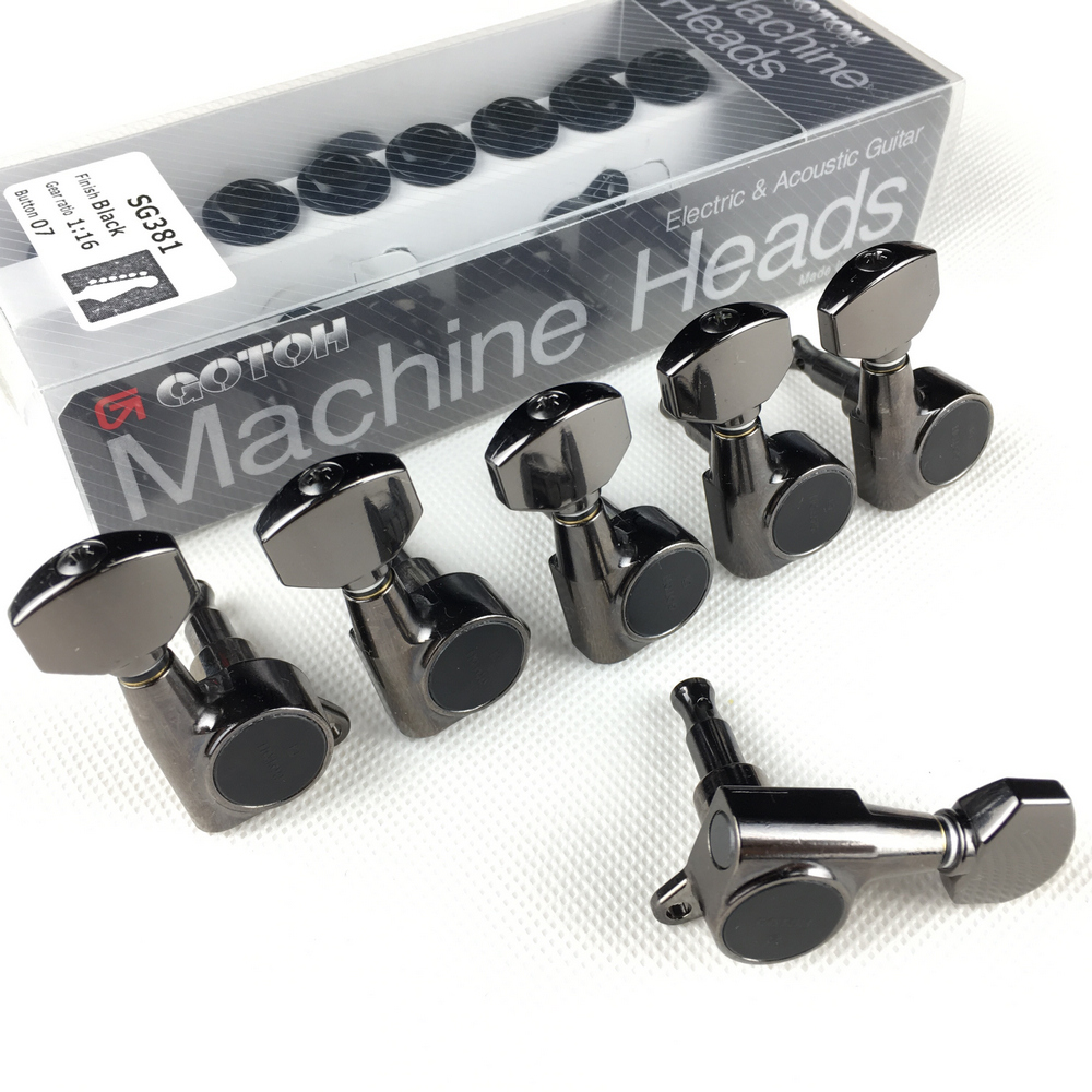 cabeças tuners (cromo preto ouro prata) tuning peg feito no japão