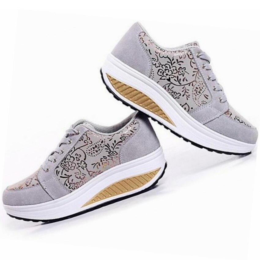 GOGORUNS correr al aire libre zapatos mujer swing señoras plataforma ...