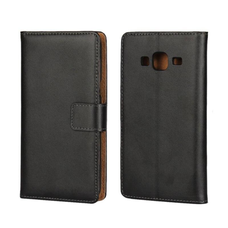La cubierta de cuero para samsung galaxy j3  delgada billetera móvil bolsa de ac