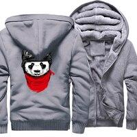 Hoodies Men 2017 Winter Fleece Brand Sweatshirt For Men Plus Size 5XL Thick Hoody Zipper Tracksuits