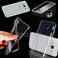 0.3mm clear crystal case tpu suave cubierta para samsung galaxy note4 note5 a3 a5 a7 a8 e5 e7 alfa grand prime g530 bolsa de teléfono