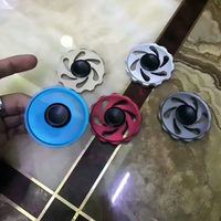 2017 New EDC Colorful Hand Spinner Fingertips Triangular Fidget Hand Spinner Stress Reliever Spiral Gifts Toys