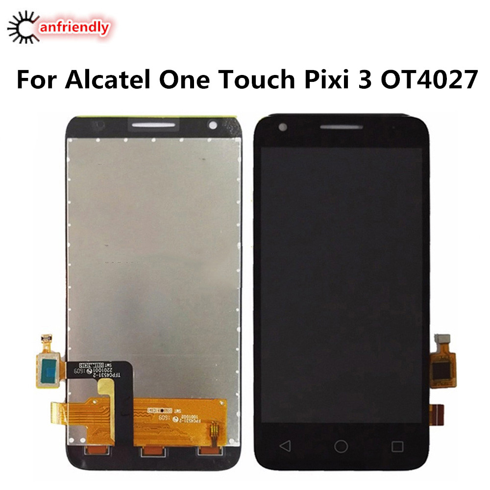 US $23 74 5% OFF For Alcatel One Touch Pixi 3 OT4027 OT4027A OT4027D  OT4027X OT 4027 LCD Display+Touch Screen Replacement Digitizer Assembly  lcds-in