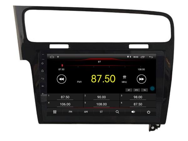 64 GB rom 8 core Android 8.1.2 voiture GPS pour Golf 7 2013-2015 noir écran tactile radio DSP stéréo navigation carplay multimédia - 4