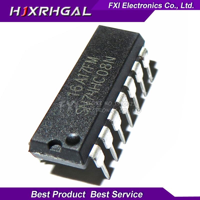 10 PCS SN74HC08N SN74HC08 DIP14 DIP 74HC08N 74HC08 yeni orijinal10 PCS SN74HC08N SN74HC08 DIP14 DIP 74HC08N 74HC08 yeni orijinal