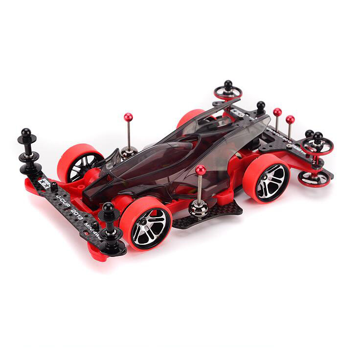 Tamiya Mini Four-wheel Drive Car Model 95286 AR Chassis Hero Thunder Shot with Self Made Upgrade Parts Set цены