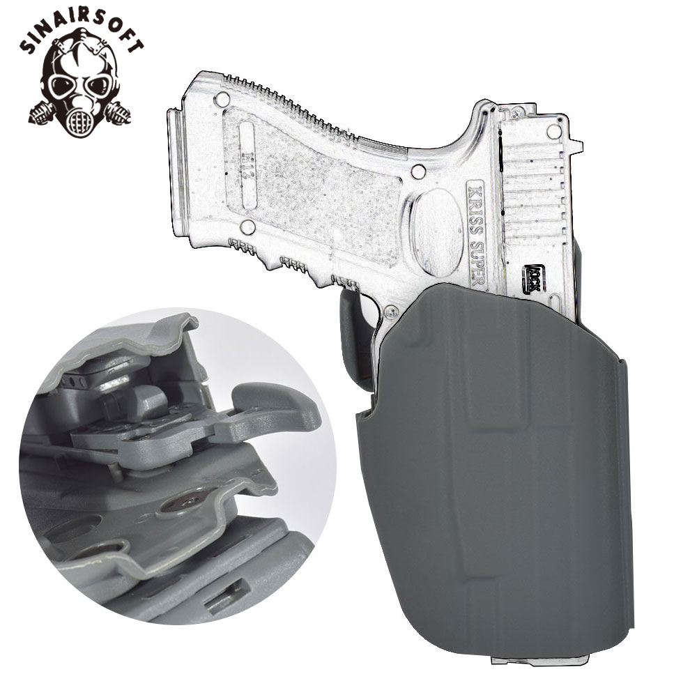 579 Gls Common Paddle Duty Right Hand Tactical pistol Holster 02 Type For Hunting Paintball Shooting sports etc. image