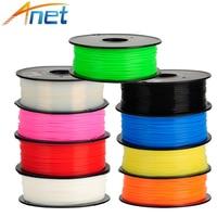 5roll Lot 1kg Roll Anet 1 75mm ABS Filament 3D Printer Filament Plastic Rubber Consumables Material