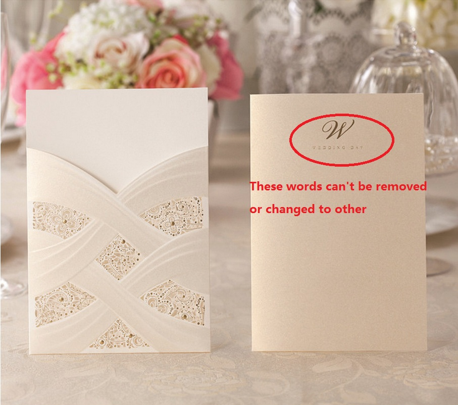 Aliexpress.com : Buy Customized laser cut floral wedding party ...