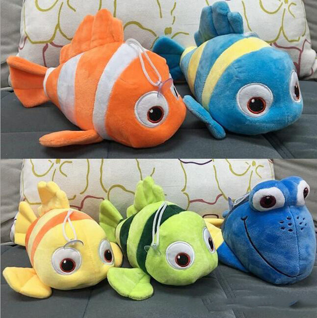 new finding dory plush toys 5 style 25cm finding nemo stuffed