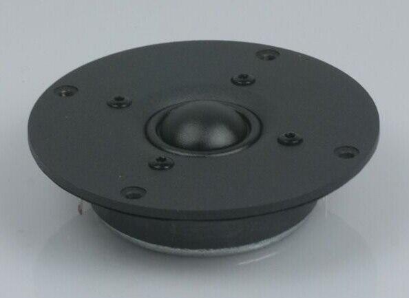 2 шт. Kasun UT-2001 4 дюйма Высокая Производительность прохладный магнит технологии 4 ''HiFi шелковый купольный твитер 900 Гц- 30 кГц диаметром 104 мм
