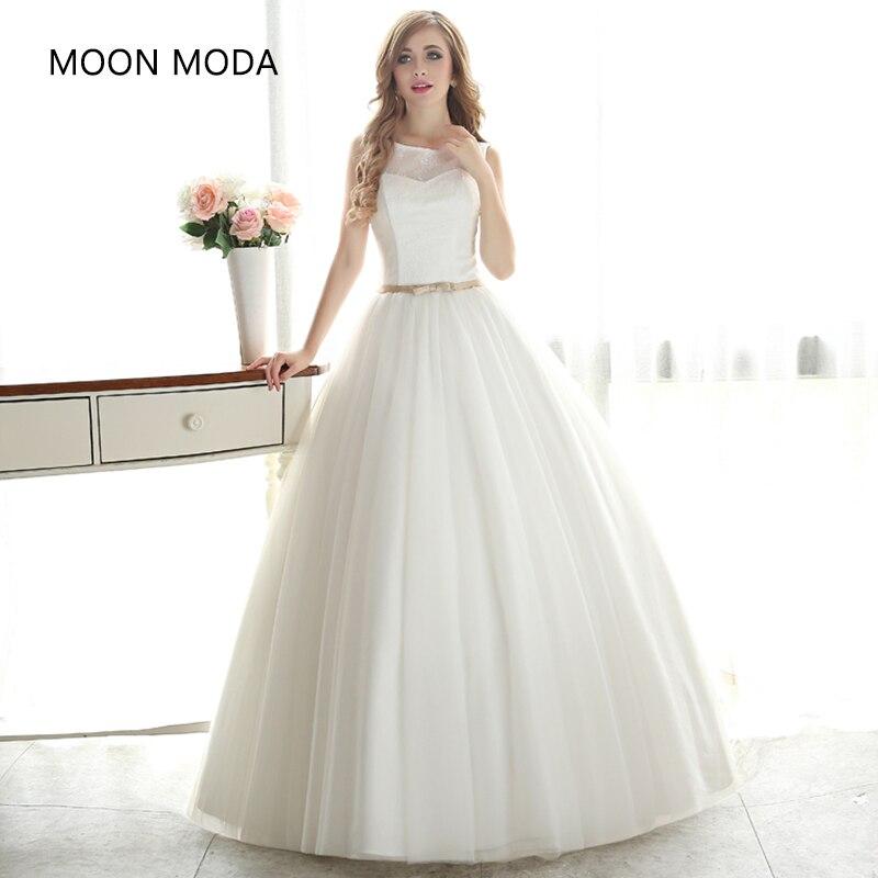 Vestido De Noiva Princess Style Boho Lace Bohemian Wedding Dress 2019 Bride Dress Simple Bridal Gown Real Photo Weddingdress