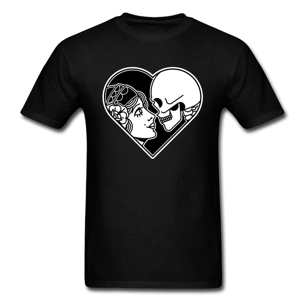 Eternity Death T Shirt Short Sleeve Design Funny Mens Father Day Tops Shirts Design Clothing Shirt Round Neck 100% Cotton