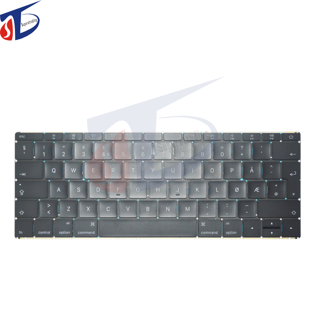 Early 2015 2016year original for apple macbook retina 12inch A1534 Norway Norwegian NO NW keyboard without backlight backlit original for apple macbook retina 12inch a1534 canadian french ca fr keyboard without backlight backlit early 2015 year