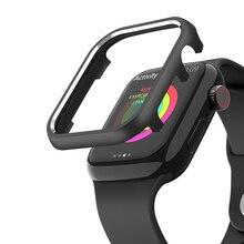 Чехол для часов чехол для Apple Watch 3 2 1 чехол для подсветки 38 мм 42 мм последняя модель чехол прозрачный протектор для iWatch 5 4 44 мм 40 мм