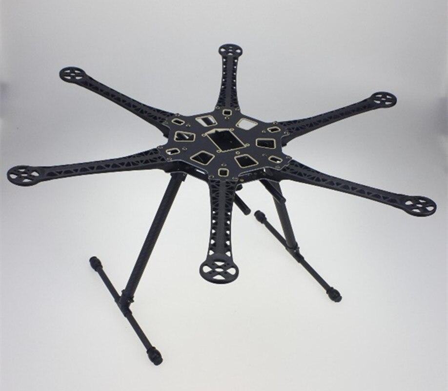 F08618 HMF S550 F550 Upgrade Hexacopter Rahmen Kit mit Fahrwerk für ...