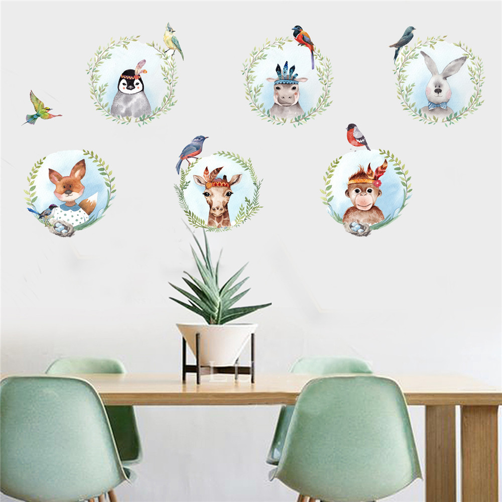 Buy diy cartoon house removable wall - Childrens bedroom wall stickers removable ...