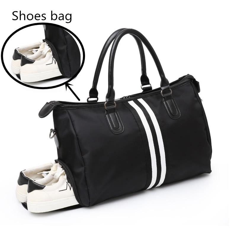 Waterproof Shoulder Sports Gym Bag For Shoes Bags Women Fitness Yoga Training Men Gymtas Tassen 2020 Sac De Sport Tas