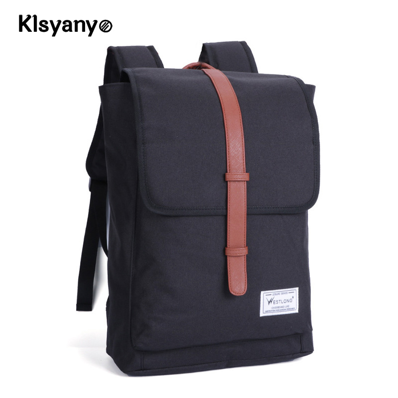 Klsyanyo Laptop Bag 14 inch Casual Unisex Waterproof Oxford Backpack Big Capacity Rucksa ...