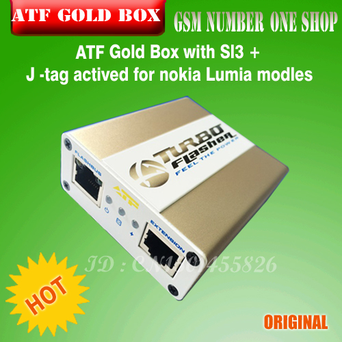 ATF Gold Box with Sl3 J tag activation for nokia Lumia modles free shipping