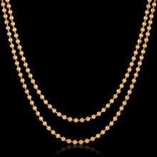 Vendimia de Múltiples Capas Collar del Acoplamiento de Cadena 18 K Oro Verdadero Plateó el Collar de la Gota Chunky Joyería de Cadena Del Cuerpo Del Verano Mujeres Regalo Único