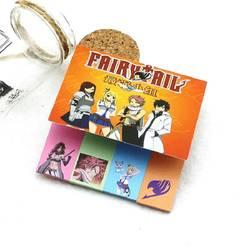 3 шт. аниме Fairy Tail блокнот заметки блокнот it бумага Стикеры страницы флаги школа Офис корейский канцелярские принадлежности тетрадь